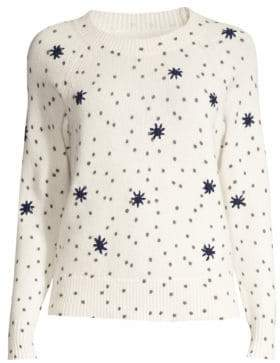 Rebecca Taylor Polka Dot Knit Sweater