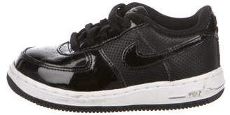 Nike Kids' Patent Leather Air Force 1 Sneakers
