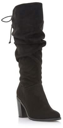 Mid Heel Knee High Boots Shopstyle Uk