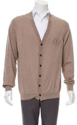 Brunello Cucinelli Knit V-Neck Cardigan