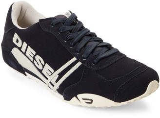 Diesel Ink Solar Low-Top Suede Sneakers