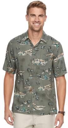 Men's Batik Bay Classic-Fit Tropical Soft Touch Pocket Button-Down Shirt