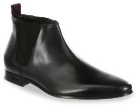 Paul Smith Marlowe Leather Chelsea Boots $425 thestylecure.com