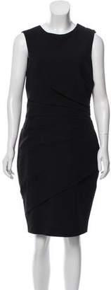 J. Mendel Ruffled Knee-Length Dress