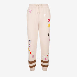 Bally Letter Embroidered Tracksuit Bottoms