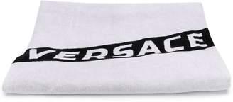 Versace logo towel