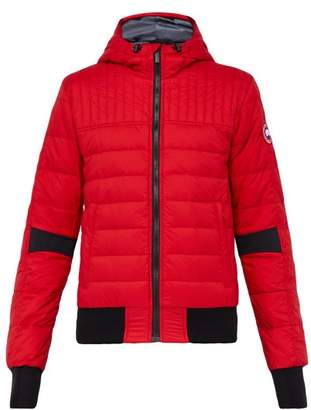 Canada Goose Cabri Hooded Down And Feather Jacket - Mens - Red