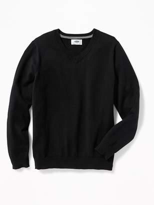 Old Navy Uniform V-Neck Sweater for Boys
