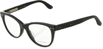 Bottega Veneta Modified Cat-Eye Optical Glasses $179 thestylecure.com