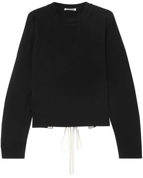 Jil Sander Open-back Lace-up Cashmere Sweater
