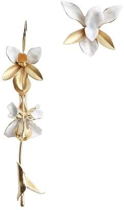 Zimmermann Tri Orchid Statement Earring