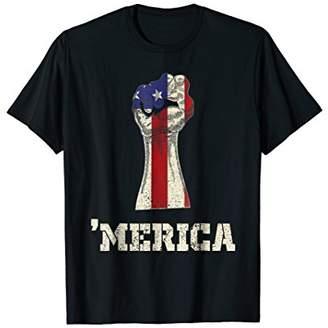DAY Birger et Mikkelsen 4th July Independence Merica American Flag Tshirt