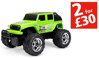 New Bright RC Charger Jeep 1:18