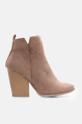 Ardene Block Heel Booties