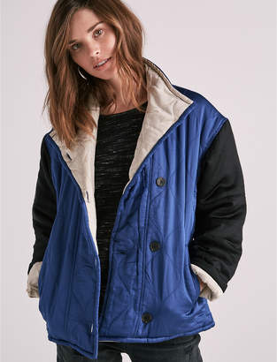 Lucky Brand COLORBLOCK QUILTED JACKET