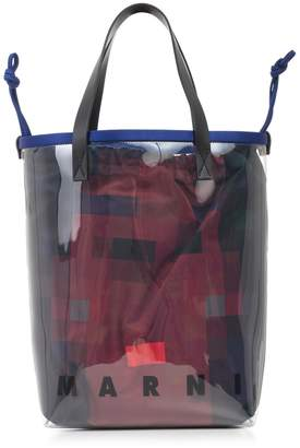 Marni Bag Pvc W/reversible Satchel