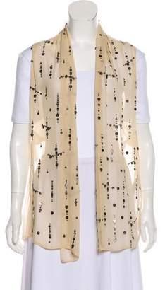Ann Demeulemeester Embellished Silk Vest