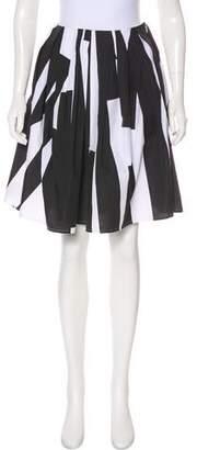 Lutz Huelle A-Line Printed Skirt