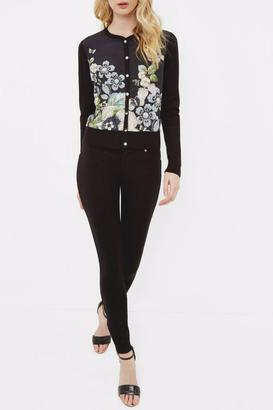 Ted Baker London Floral Cardigan $195 thestylecure.com