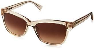 Cole Haan Women's Ch7009 Plastic Cateye Sunglasses
