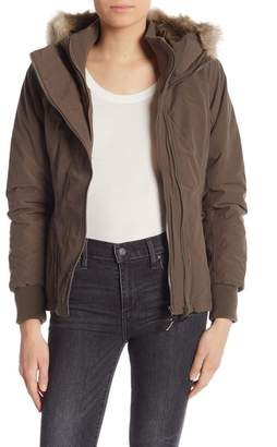 Bench Kidder Faux Fur Hooded Jacket