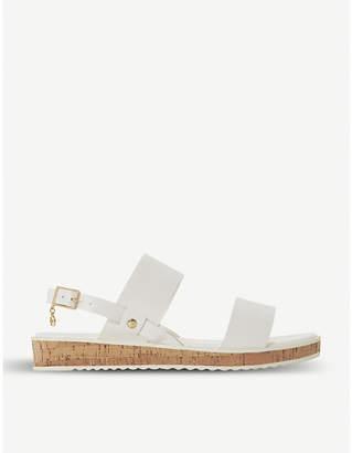 Dune Luminere faux-leather sandals