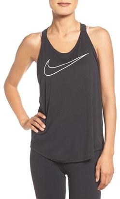 Women's Nike Elastika Graphic Dri-Fit Tank $40 thestylecure.com