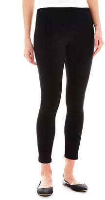 MIXIT Mixit Solid Knit Leggings - Tall