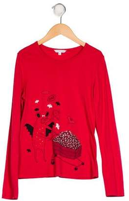 Marc Jacobs Girls' Printed Knit Top