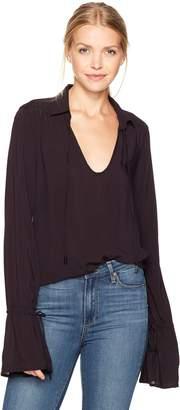 Paige Women's Calissa Shirt Black