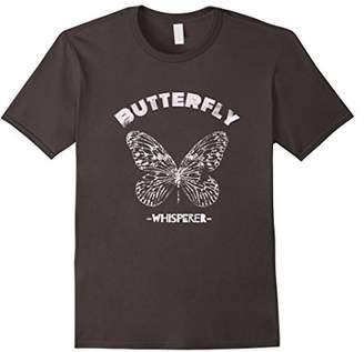 Butterfly Whisperer Insect Silhouette Shirt Lover Gift
