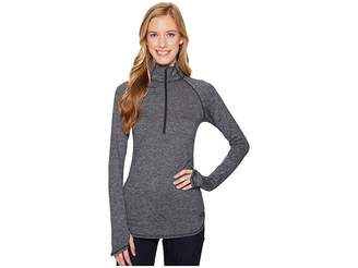 The North Face Motivation Stripe 1/2 Zip Women's Long Sleeve Pullover