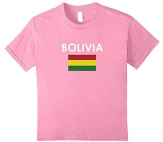 BOLIVIA Flag T Shirt for Bolivian Loving Americans