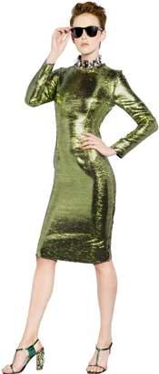 Lanvin (ランバン) - Lanvin Long Sleeved Metallic Dress