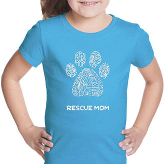 LOS ANGELES POP ART Los Angeles Pop Art Girl's Word Art T-shirt - Resue Mom