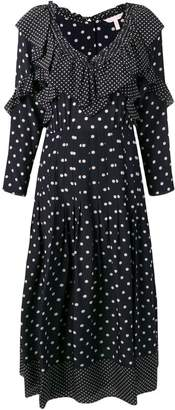 Rebecca Taylor polka dot print dress