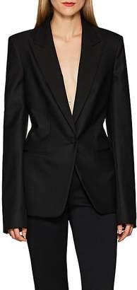 The Row Women's Mathis Virgin Wool-Blend Blazer - Black