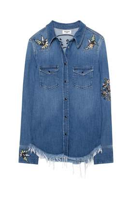 Zadig & Voltaire Thelma embroidered Deluxe shirt