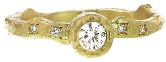 Yasuko Azuma Solitaire Thorn Ring - Yellow Gold