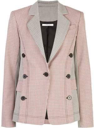 Derek Lam 10 Crosby checked button-embellished blazer