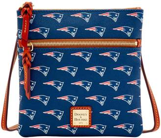 Dooney & Bourke NFL Patriots Double Zip Crossbody