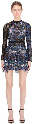 Celeste Patchwork Lace Dress For Lvr $465 thestylecure.com
