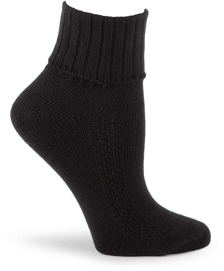 HUE Air Cushion Sport Turncuff Socks 3-Pack