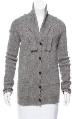 Chloé Alpaca-Wool Blend Knit Cardigan