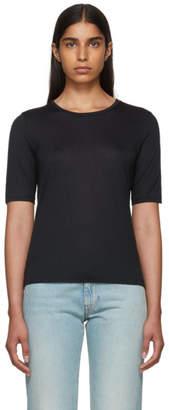 Totême Black Cashmere Stockholm T-Shirt