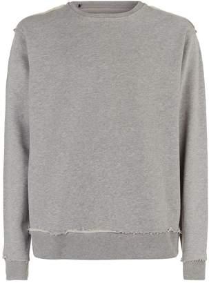 7 For All Mankind Raw Edge Sweatshirt