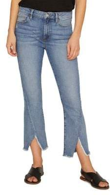 Sanctuary Connector Kick Distressed Cropped Jeans