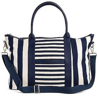 Merona; Women's Multistriped Canvas Tote with Removable Crossbody Strap - Merona; $34.99 thestylecure.com