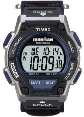 Timex Men's Ironman Endure 30 Shock Full-Size Watch, Black Fast Wrap Strap