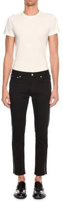 Alexander McQueen Men's Full Side-Zip Skinny Jeans